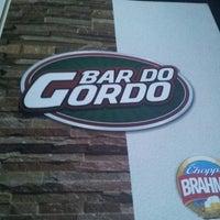 Photo taken at Bar do Gordo by Daniel Da B. on 5/10/2013