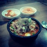 Photo taken at 아바이순대국 by Sejin P. on 1/31/2013