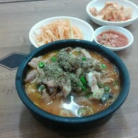 Photo taken at 아바이순대국 by Sejin P. on 9/27/2012