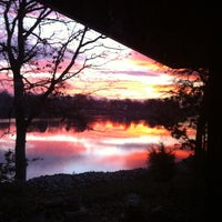 Photo taken at Holiday Shores Lake by Dale F. on 11/19/2012