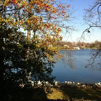Photo taken at Holiday Shores Lake by Dale F. on 12/11/2012