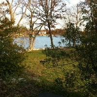 Photo taken at Holiday Shores Lake by Dale F. on 11/9/2012