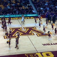 Photo taken at Williams Arena by Brian T. on 11/2/2012