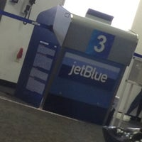 Photo taken at jetBlue Terminal by Lauren R. on 10/9/2012