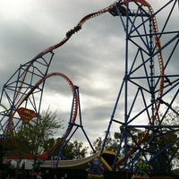 Photo taken at Superman Ultimate Flight by Ritchel E. on 3/30/2013