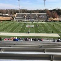 Photo taken at Gibbs Stadium by Austin S. on 12/16/2017