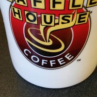 Photo taken at Waffle House by Man S. on 3/30/2014