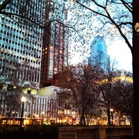 Photo taken at Rittenhouse Square by Paul B. on 12/3/2012
