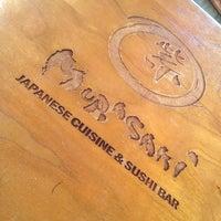 Photo taken at Murasaki Restaurant and Sushi Bar by Christina N. on 9/7/2013