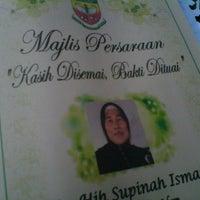 Photo taken at Sekolah Kebangsaan Taman Kosas by Hamidi H. on 11/1/2013