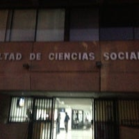 Photo taken at Facultad de Ciencias Sociales Universidad de Chile by Jeremy Y. on 5/23/2013