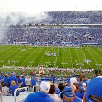 Photo taken at Commonwealth Stadium by Marc B. on 9/29/2012