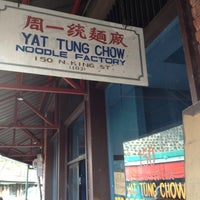 Photo taken at Yat Tung Chow Noodle by Clarence L. on 5/18/2013
