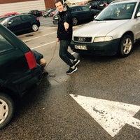 Photo taken at TC Maxima XX parking by Emīls H. on 11/20/2016
