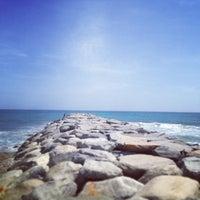 Photo taken at Playa Pelúa by Nelson A. on 5/20/2013