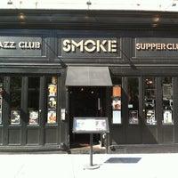 Photo taken at Smoke Jazz & Supper Club by Mudd Club J. on 9/30/2012