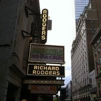 4/23/2013にMudd Club J.がRichard Rodgers Theatreで撮った写真
