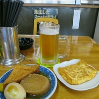 Photo taken at かどや食堂 by cannondale on 9/22/2015