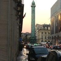Photo taken at The Westin Paris – Vendôme by Jamison on 11/2/2012