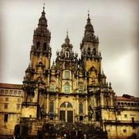 Photo taken at Catedral de Santiago de Compostela by Daniella C. on 3/24/2013