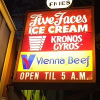 Photo taken at Five Faces Ice Cream Shop by Tyler M. on 6/2/2014