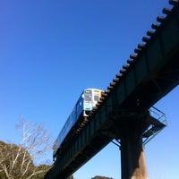 Photo taken at 天竜浜名湖鉄道 都田川橋梁 by onasu on 2/23/2014