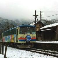 Photo taken at Fukado Station by onasu on 12/6/2014
