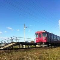 Photo taken at Sekishiyakushomae Station by onasu on 11/23/2013