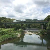 Photo taken at 天竜浜名湖鉄道 都田川橋梁 by onasu on 5/20/2018