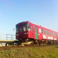 Photo taken at Sekishiyakushomae Station by onasu on 4/4/2013