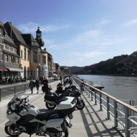 Photo taken at Dinant by Eric D. on 4/7/2018