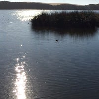 Photo taken at OSO FLACO LAKE by Fred D. on 11/28/2014