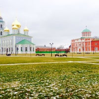 Photo taken at Башня Ивановских ворот by Dmitry F. on 12/14/2014