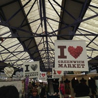 Photo taken at Greenwich Market by David D. on 5/16/2013