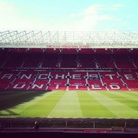 Photo taken at Old Trafford by David D. on 4/6/2013