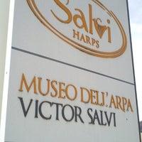 Photo taken at Salvi harps Piasco by Eric@ P. on 2/27/2013