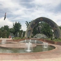 Photo taken at Парк Рудаки / Rudaki Park by Dmitry R. on 6/10/2017