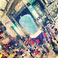 Photo taken at Hiroshima Hondori Shotengai by Kuni T. on 6/7/2013