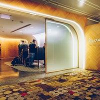 Photo taken at The Qantas Singapore Lounge by Robert M. on 3/18/2017