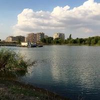 Photo taken at Bilkent Gölü by Meltem on 7/21/2016