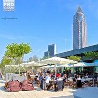 Photo taken at Skyline Plaza by Frankfurt B. on 9/1/2013