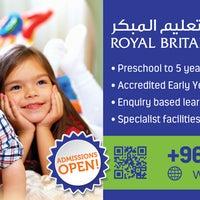 Photo taken at Royal Britannia Kindergarten by Royal Britannia Kindergarten on 8/9/2015