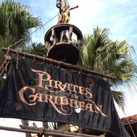 Photo taken at Pirates of the Caribbean by Matthew H. on 9/30/2012