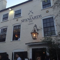 Photo taken at The Spaniards Inn by Pavlos G. on 11/11/2012