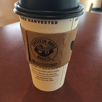 Photo taken at Einstein Bros Bagels by John K. on 12/16/2015