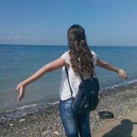 Photo taken at karaagac deniz kenari by YaRen B. on 10/9/2015