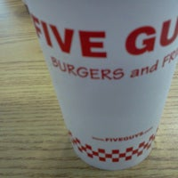 Photo taken at Five Guys by Jonathan F. on 4/5/2014