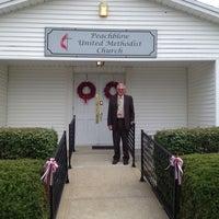 Photo taken at Peach Blow Methodist Church by Barbara C. on 7/7/2013