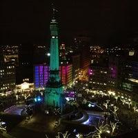 Photo taken at Sheraton Indianapolis City Centre Hotel by Joe S. on 11/23/2012
