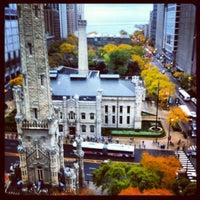 Photo taken at Park Hyatt Chicago by Eli C. on 10/23/2012
